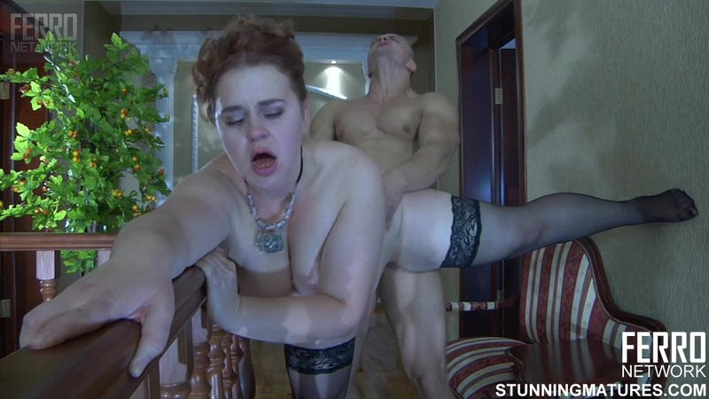 Зрелая тетя и племянник секс